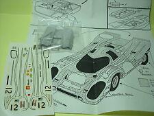 PORSCHE  917  K  BRANDS  HATCH   1970  TRANSKIT  GPM   SOLIDO  1/43  NO SPARK