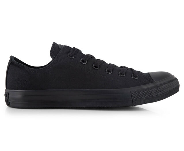 dd3b938ec9a 314786f Converse Shoes Chuck Taylor Ox All Star Low Black SNEAKERS ...