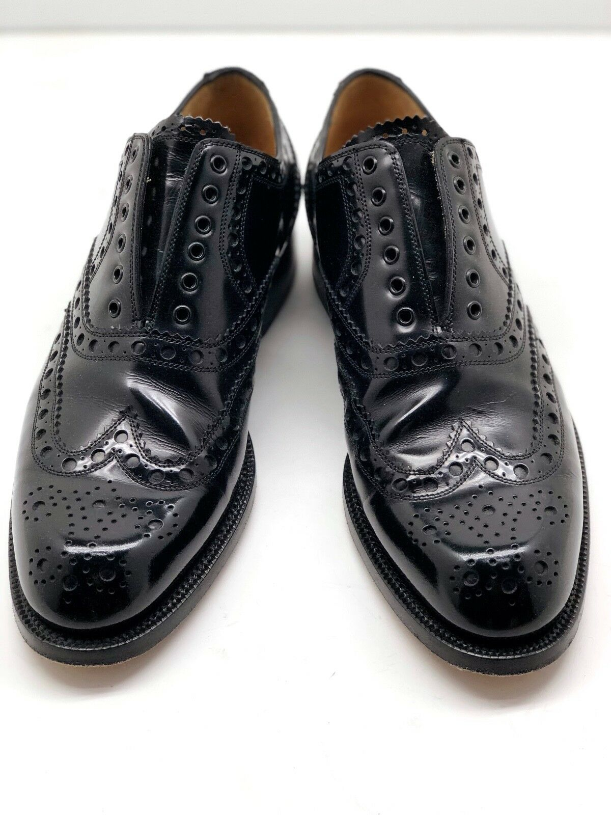 Cole Haan Preston Cap Toe Oxford Dress shoes  Black Men's size US 8 EU 41.5