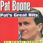 Pat's Great Hits [Curb] by Pat Boone (CD, Jan-1994, Curb)