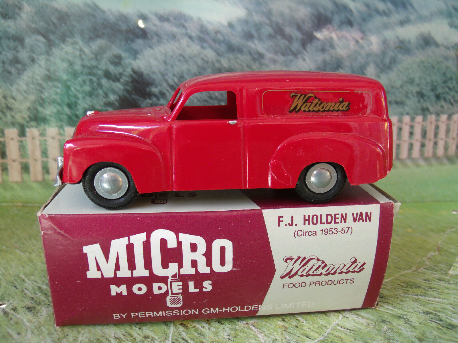 Mikro - modelle (australien)   wa-1 gm f.j. holden van