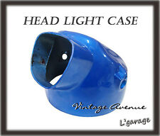 *HONDA CL90 SS125A CL125A CL175 CD125 CD175 CA175 CT90 CT110 HEADLIGHT CASE BLUE
