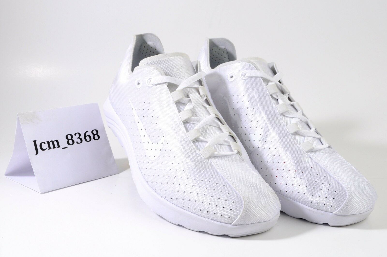 NIKE MAYFLY LITE BR SIZE 8 WHITE PURE PLATINUM 898027-100 NEW WITHOUT BOX