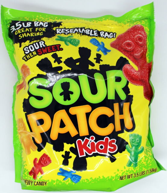 Sour Patch Kids 10 Lbs Pounds Bulk Bag Candy Fruit Flavored Chewy Gummy Candies For Sale Online Ebay