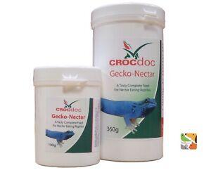 360 G Gecko Nectar Reptile Feed-reptile Supplément-crocdoc-afficher Le Titre D'origine