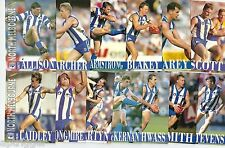 1996 Select Centenary Series 1 NORTH MELBOURNE Team Set & 2 Future Stars **
