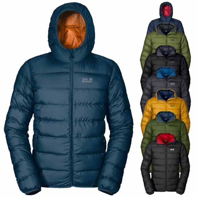 Jack Wolfskin Mens Helium Down Winter Waterproof Windproof Hooded Jacket Coat