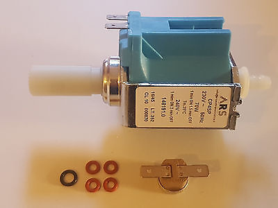 Thermostat 115C 10A Jura AEG Nivona Krups Wasserpumpe ARS CP4 230V 70W Pumpe