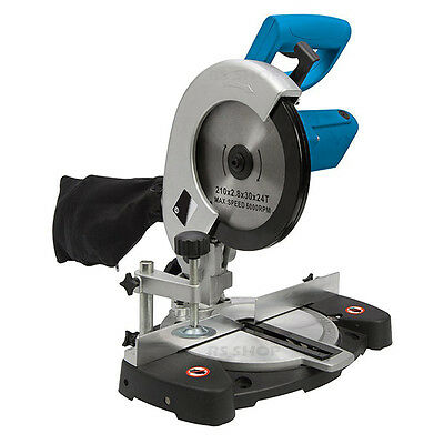 High Performance 1400W Compound Mitre Saw 210mm Chop Saws Corded Warranty NEW