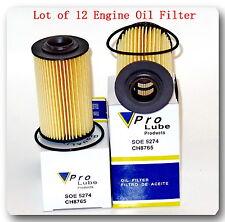12 x Engine Oil Filter CH8765 Fit: Cadillac Chevrolet Oldsmobile Pontiac Saab