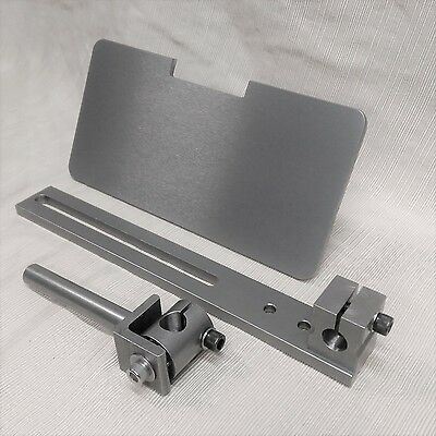 2x72 Belt Grinder D-Backing Plate with Wheels /& Platen plus Tool Rest