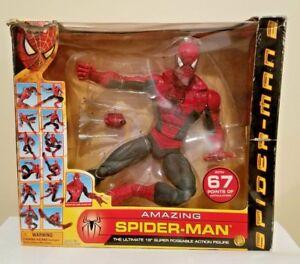 Toy Biz Spider-man 2 Le film 18 pouces incroyable Super Poseable Figure