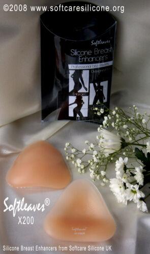Softleaves bikini X200 améliorateurs mammaires en silicone natation améliorateurs de sein