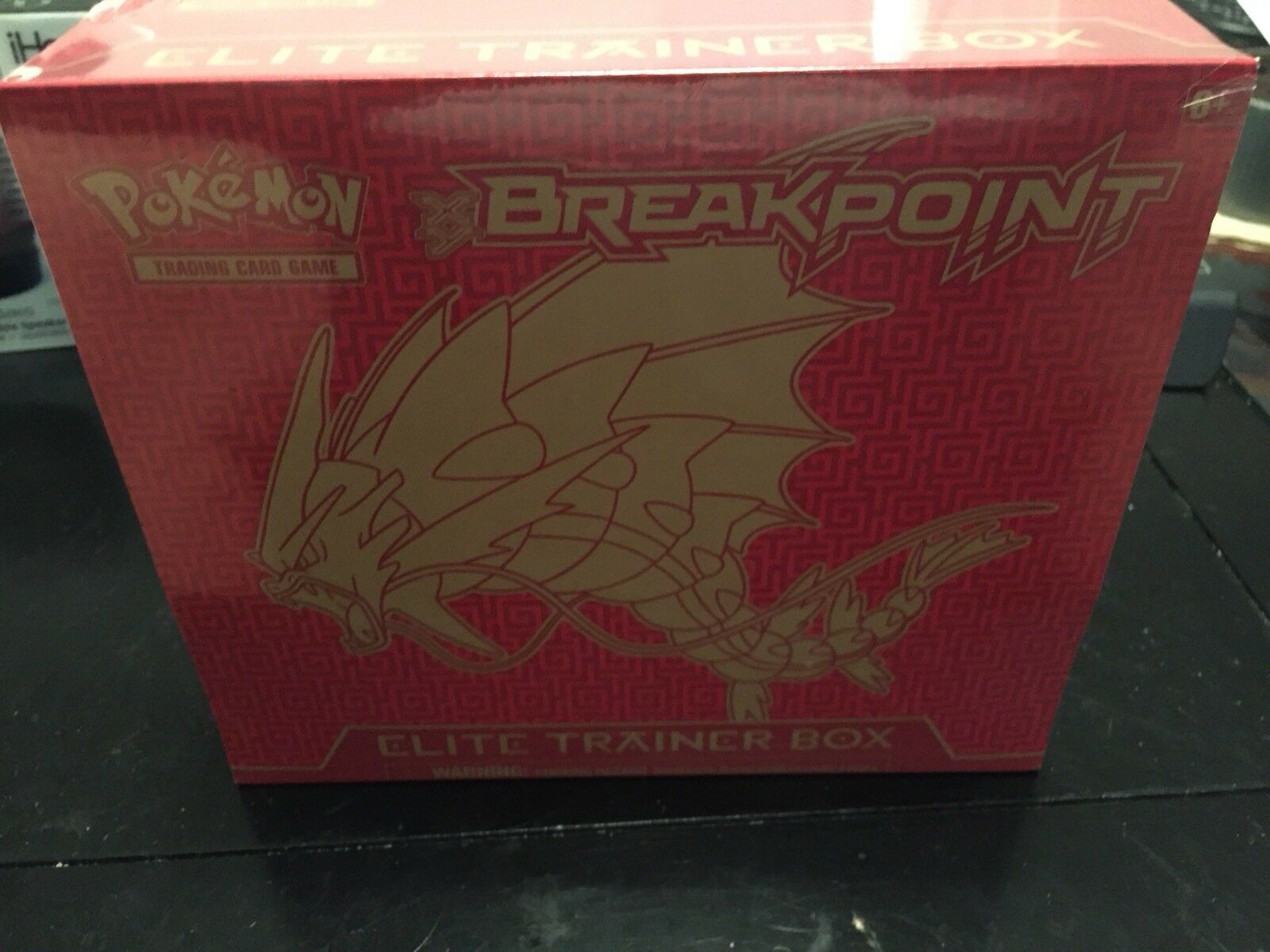 Neue pokémon tcg haltepunkt elite - trainer - box fabrik versiegelt (abgebrochen)