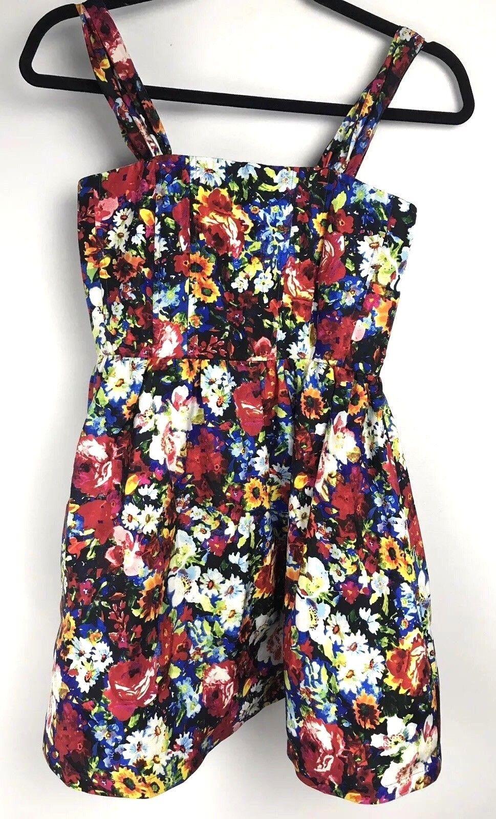 Alice + Olivia Madeline FULL SKIRT Dress Größe X-SMALL