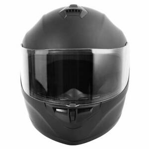 DOT-Full-Face-Flip-up-Motorcycle-Helmet-Motocross-Racing-Matte-Black-M-L-XL-XXL