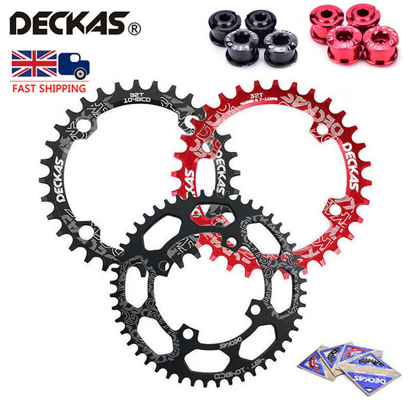 All Teeth 32-52T 104bcd Narrow Wide Chainring Round Oval Single MTB Chainwheel