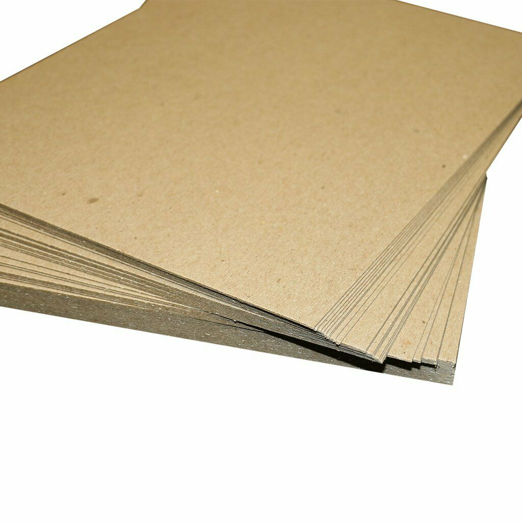 20 Sheets Brown//Gray Chipboard 60 Point Extra Thick 5.5 X 8.5 Half Letter 5.5X8.5 Inches Statement Size .060 Caliper Extra X Heavy Cardboard as Thick as 15 Sheets 20# Paper