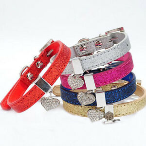 New-Bling-Pet-Dog-Collar-Adjustable-Puppy-Cat-Collar-For-Small-Dogs-Pets-Collars
