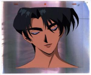 Golden-Boy-Anime-Production-Cel-Douga-Copy-BG-Ayuko-Face-up-Lesson-4-Egawa