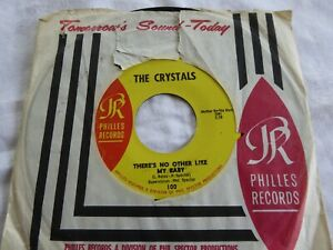 THE CRYSTALS -  THERE'S NO OTHER LIKE MY BABY -  ORIG U.S.A. PHILLES RECORDS 100