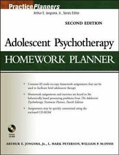 Adolescent Psychotherapy Homework Planner, Jongsma Jr., Arthur E., Peterson, L.