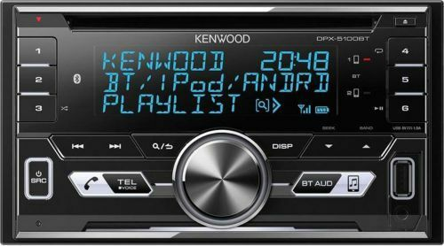 Kenwood DPX-5100BT 2-DIN Autoradio Bluetooth USB Aux In CD New Model