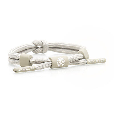 Rastaclat Khaki Natural Knotaclat Shoelace Wristband Bracelet Jewelry RC025KHK