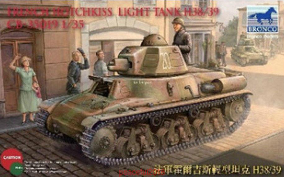 Bronco CB35019 1 35  French H38 39 Hotchkiss Light Tank