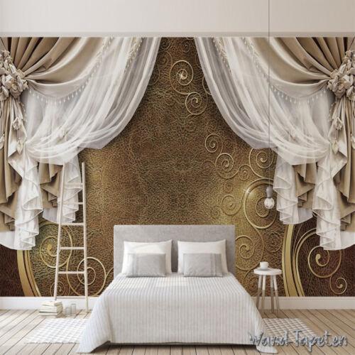 Nappes papiers peints photos tapisseries peintures murales effet 3d pointes de rideau 4906