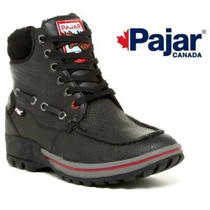 New-In-Box-PAJAR-Bolle-Men-039-s-Winter-Boots-Black-Size-10-5-EUR-44