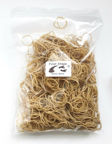 """1200 x Small No.10 Rubber Elastic Bands 1/""""  35mm x 1.5mm  Ideal For Jam Jars"""