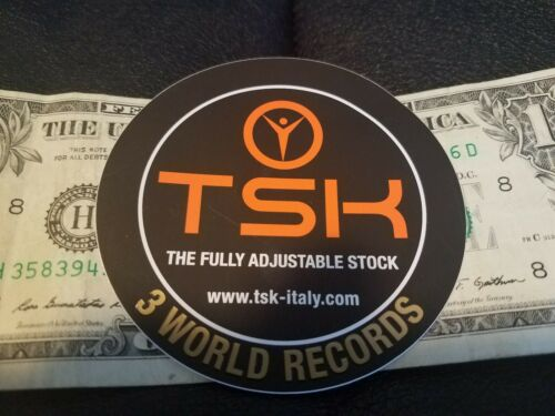 TSK Italy sticker Trap and Skeet