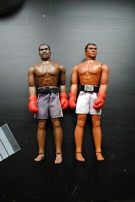 Vintage Mego Corp 1975 Muhammad Ali Boxing Action Figure Doll 10\u201d tall for Parts or Repair