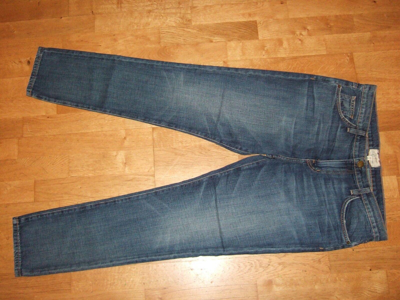 Xlent Current Elliott The Rendezvous 1690 Jeans Blau 30 UK 12 USA 8 Celeb Fave