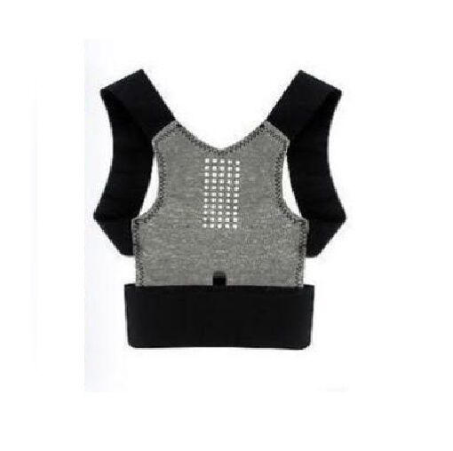 Power Magnetic Back Shoulder Posture Corrector Support Vest Unisex Adjustable XL
