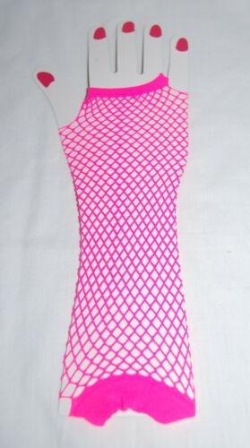 Neon Accessories Dance Hen Stag Costume Accessories Kids Women fishnet glove