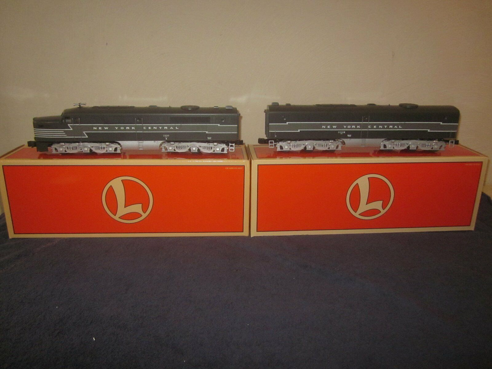 Lionel 6-18953 6-18966 New York Central NYC Alco PA-1 & PB-1  MM
