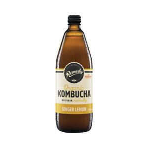 Remedy Kombucha Ginger & Lemon 750 ml
