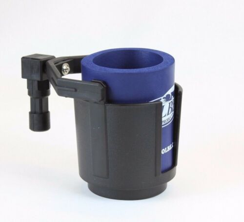 Folbe Cup Holder Fits into Deck or Bulkhead Mounts holds Mugs Cans Drinks F026
