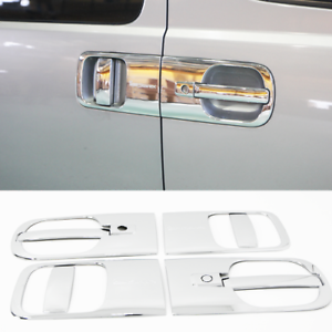 Chrome Door Handel Molding 8Pcs For Hyundai Grand Starex H1 iLoad ...