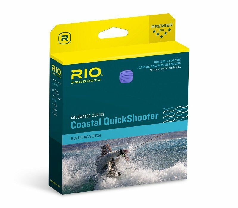 RIO Coastal QuickShooter Fly Line  WF8i  Intermediate Sinre  nuovo
