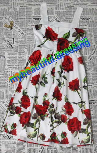MW007868 ELEGANT FLORAL PRINT TANK DRESS