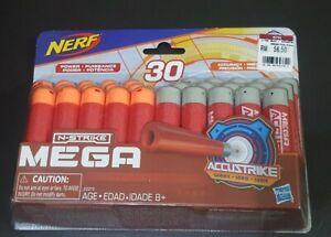 Nerf-Gun-Mega-Bullet-N-strike-Accustrike-30pcs-Original-By-Hasbro