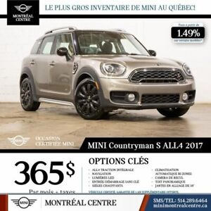 2017 MINI Cooper S Countryman S|ALL4|LOADED|18'MAGS|NAVIGATION|