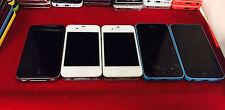 5 x iPhone 4S 5C Cricket nTelos Unlocked T-Mobile