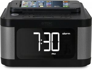 New TDK LoR FM radio equipped with stereo speakers with alarm function TCC8431