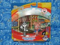 Looney Tunes Show Bugs Bunny Porky Pig Figure Pack Next Day Usa Shipping