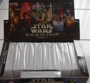 Star Wars Galactic Files 2 Complete 350 Base Card Set