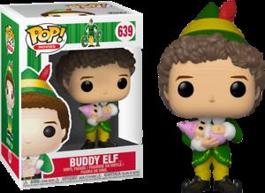 Exclusive-BUDDY-ELF-WITH-BABY-Funko-Pop-Vinyl-New-in-Box